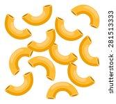 macaroni | Shutterstock .eps vector #281513333