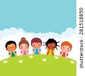 stock vector cartoon... | Shutterstock .eps vector #281518850