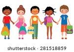 stock vector cartoon... | Shutterstock .eps vector #281518859
