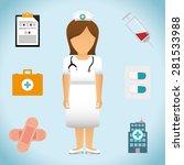 medical design over white...   Shutterstock .eps vector #281533988