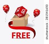 free design over white... | Shutterstock .eps vector #281541650