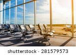 departure lounge at the airport | Shutterstock . vector #281579573