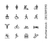 people icons | Shutterstock .eps vector #281589590