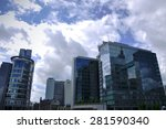 brussels   may 05  the modern... | Shutterstock . vector #281590340