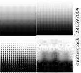 vector illustration set of... | Shutterstock .eps vector #281597009