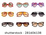 summer sun protection... | Shutterstock .eps vector #281606138