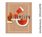 vector colorful illustration of ...   Shutterstock .eps vector #281616098