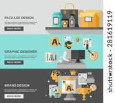 branding horizontal banner set  ...   Shutterstock .eps vector #281619119