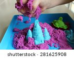 Fun Kinetic Sand. Child...