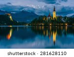 Church Of Bled By Night In...