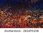 shiny circles of light  | Shutterstock . vector #281693108
