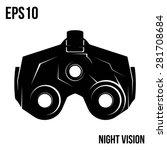 night vision vector | Shutterstock .eps vector #281708684