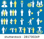 management and people... | Shutterstock .eps vector #281730269