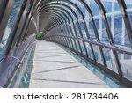 Kupka Bridge Covered By Roof...