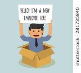 new employee   Shutterstock .eps vector #281735840