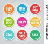 web sale banner | Shutterstock .eps vector #281736656