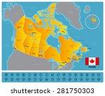 canada | Shutterstock .eps vector #281750303