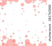 Bubble Pink Vector Seamless...