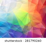 abstract colorful vector... | Shutterstock .eps vector #281790260