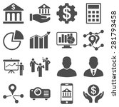 banking business and... | Shutterstock . vector #281793458