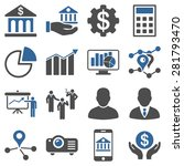 banking business and... | Shutterstock .eps vector #281793470