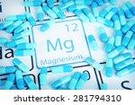 magnesium   elemental mineral... | Shutterstock . vector #281794310