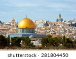 The Dome Of The Rock On The...