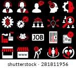 business  service  management... | Shutterstock .eps vector #281811956