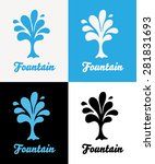 creative tree vector logo...   Shutterstock .eps vector #281831693