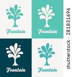 creative tree vector logo...   Shutterstock .eps vector #281831696