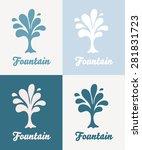 creative tree vector logo...   Shutterstock .eps vector #281831723