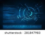 background conceptual image of...   Shutterstock . vector #281847983