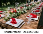 Wedding Table Appointments