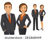 business team | Shutterstock .eps vector #281868449