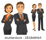 business team | Shutterstock .eps vector #281868464