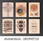 set of poster  flyer  brochure... | Shutterstock .eps vector #281943713