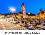 Brasov  Transylvania  Romania....