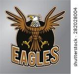 eagles mascot   Shutterstock .eps vector #282028004