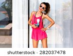 Summer Fashion Portrait Of...