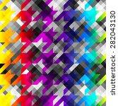 seamless background pattern.... | Shutterstock .eps vector #282043130