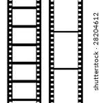 camera film. vector - stock vector