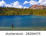 Fisherman  Lake George