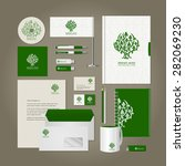 corporate style   tree.... | Shutterstock .eps vector #282069230
