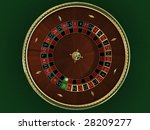 there is a roulette for casino   Shutterstock . vector #28209277