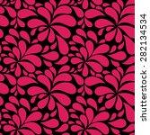 floral seamless pattern...   Shutterstock .eps vector #282134534