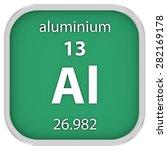 aluminium material on the... | Shutterstock . vector #282169178