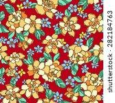 flower pattern | Shutterstock .eps vector #282184763