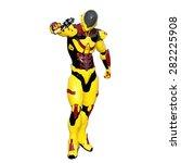 robot | Shutterstock . vector #282225908