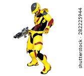 robot | Shutterstock . vector #282225944