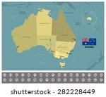 australia | Shutterstock .eps vector #282228449
